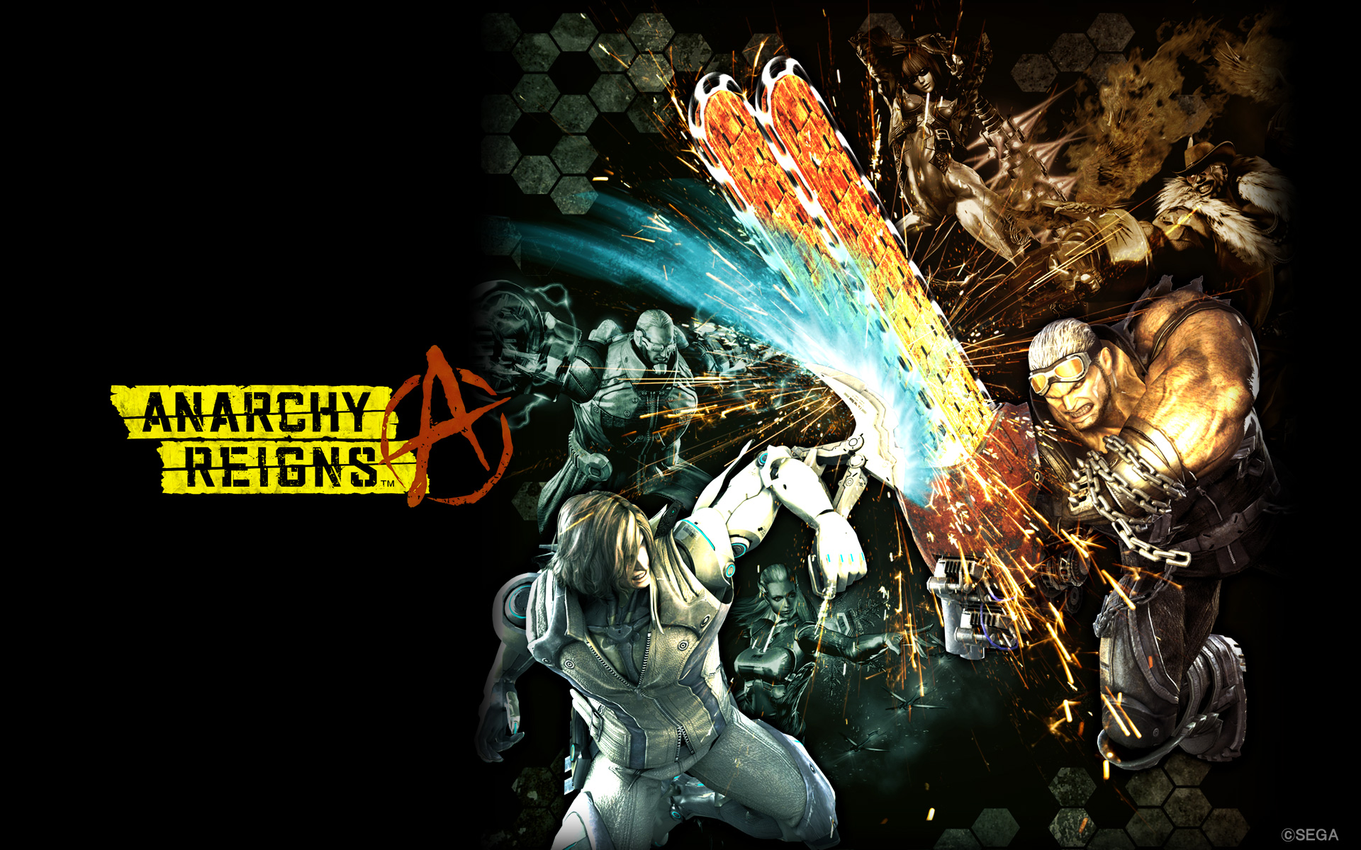 Anarchy Reigns Official Site