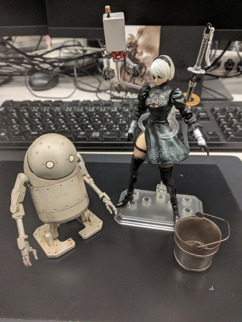 Nier Automata のメカデザイン 機械生命体編 Nier Automata 開発ブログ