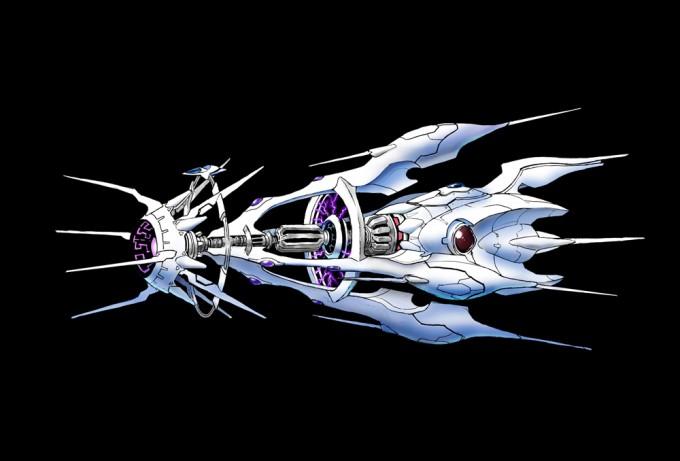アッドゥーラ エルダータ重力圏生成砲艦